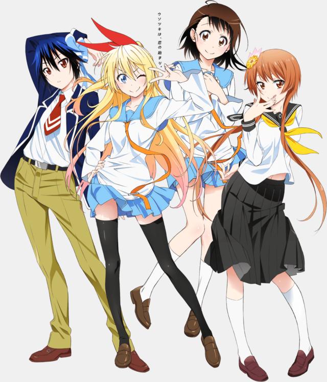 Nisekoi demi finale tournoi shonen 2013 manga news