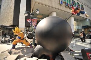 Parco bataille Gokû et Luffy 7
