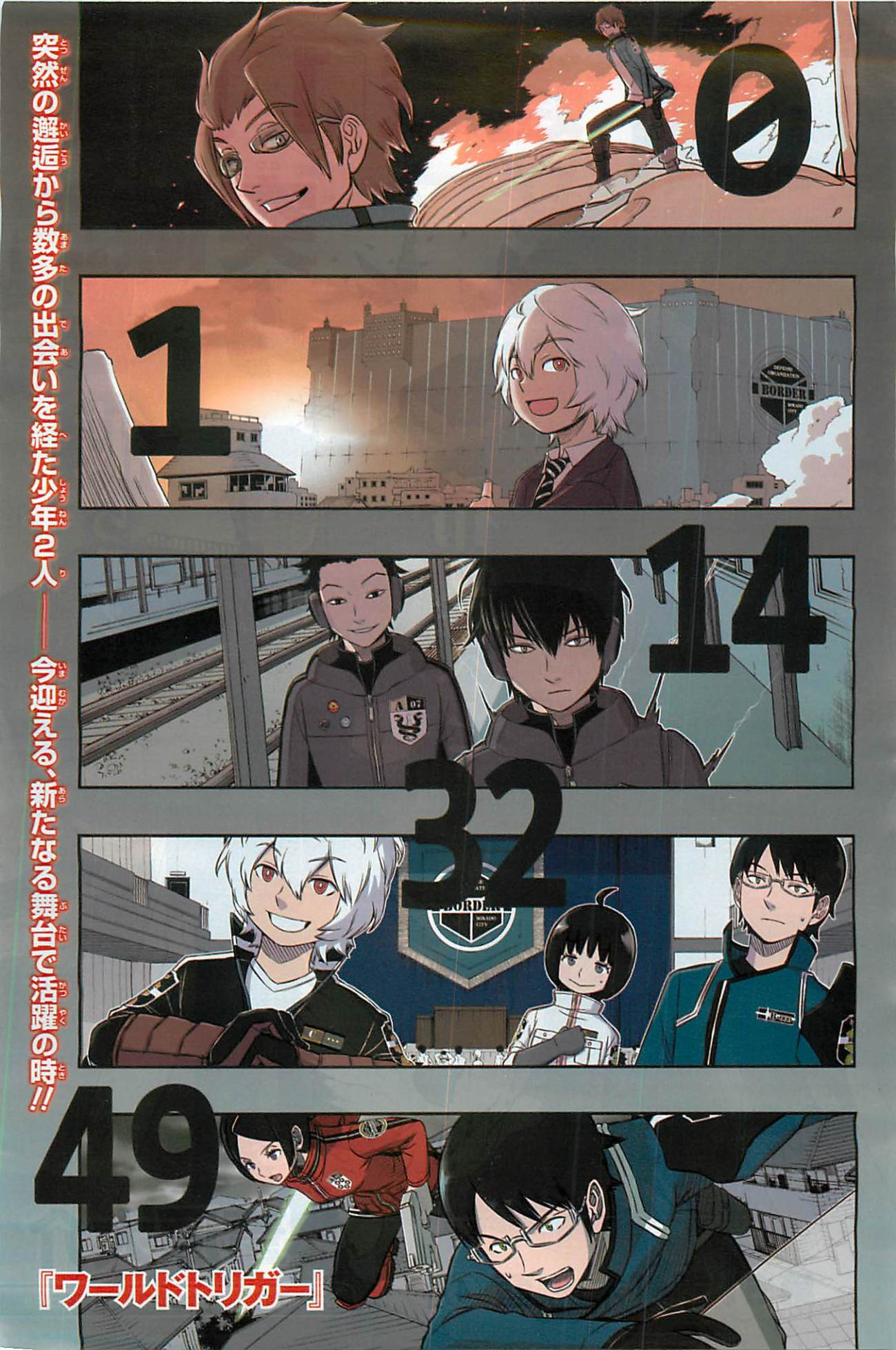 World Trigger 2014 15 page couleur 01