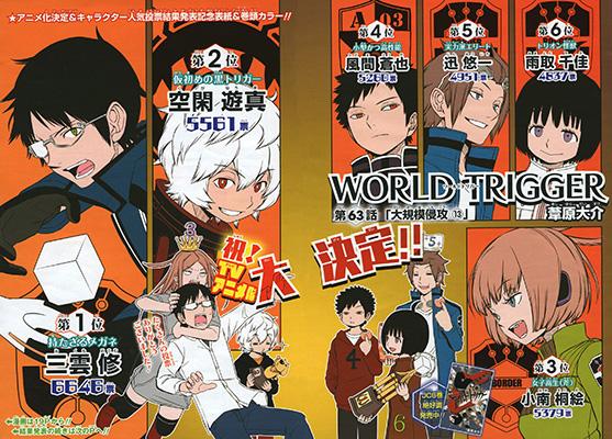 World Trigger Weekly Shonen Jump 2014 28