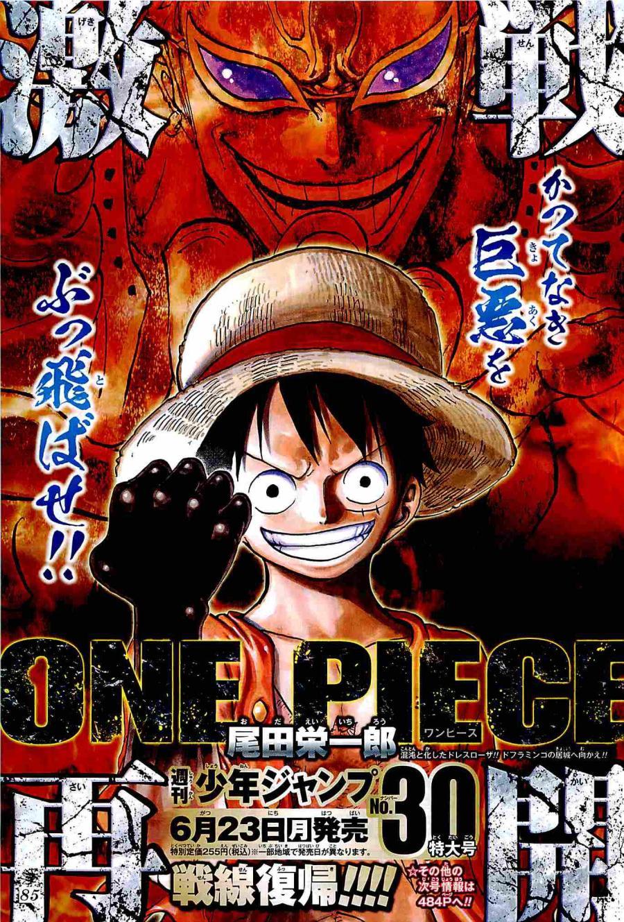 One Piece bientôt dans Weekly Shonen Jump 2014 #30