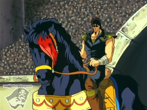 Kenshiro apparaît avec Kokuô !