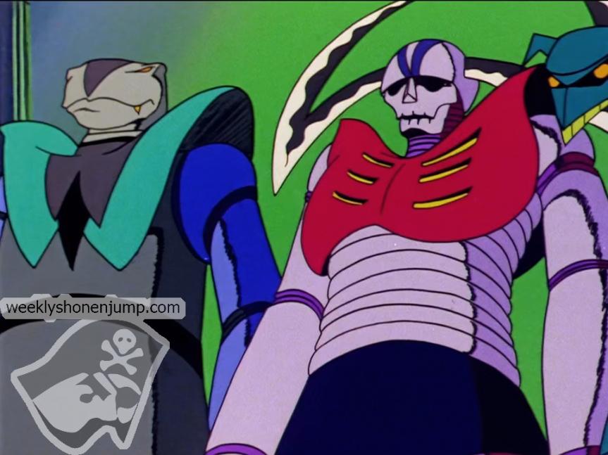 Les robots du Dr. Hell !