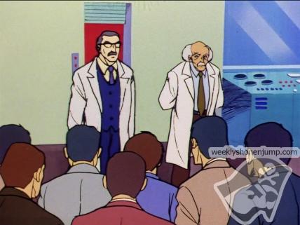 Les docteurs montrent leur découverte !
