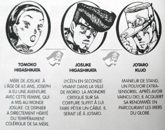JOJO PERSONNAGES