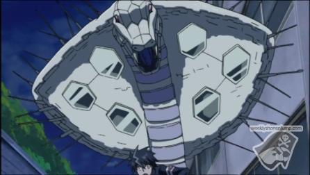 Kazuki est poursuivi par l'homoncule !