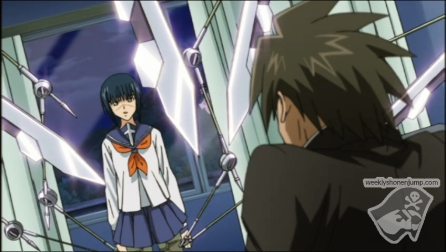 Tokiko transformée en véritable arme !