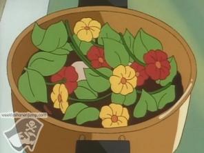 La recette spéciale de Ryotsu avec les fleurs de Reiko !