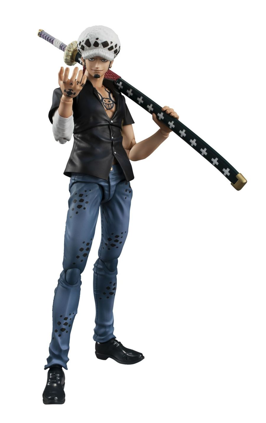 MegaHouse Variable Action Heroes ONE PIECE Trafalgar Law Ver.2 Action Figure